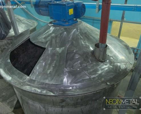 Ecetaş Fabrika Dış cephe giydirme Çelik çatı yapımı