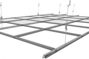 asma tavan metal profilleri montaj